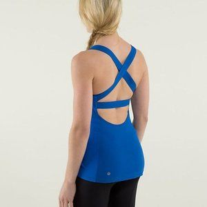Lululemon Core Kicker Tank in Royal Blue
